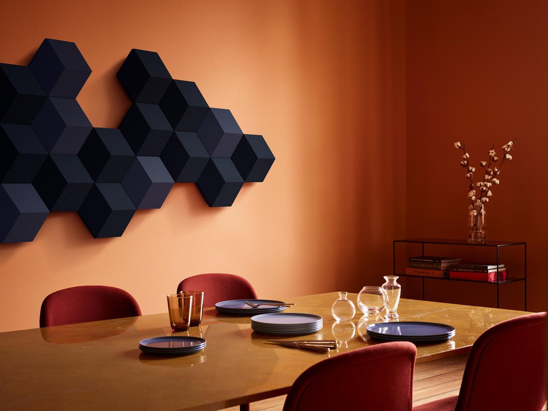 Необычный дизайн от Bang & Olufsen, в обычных вещах акустических систем