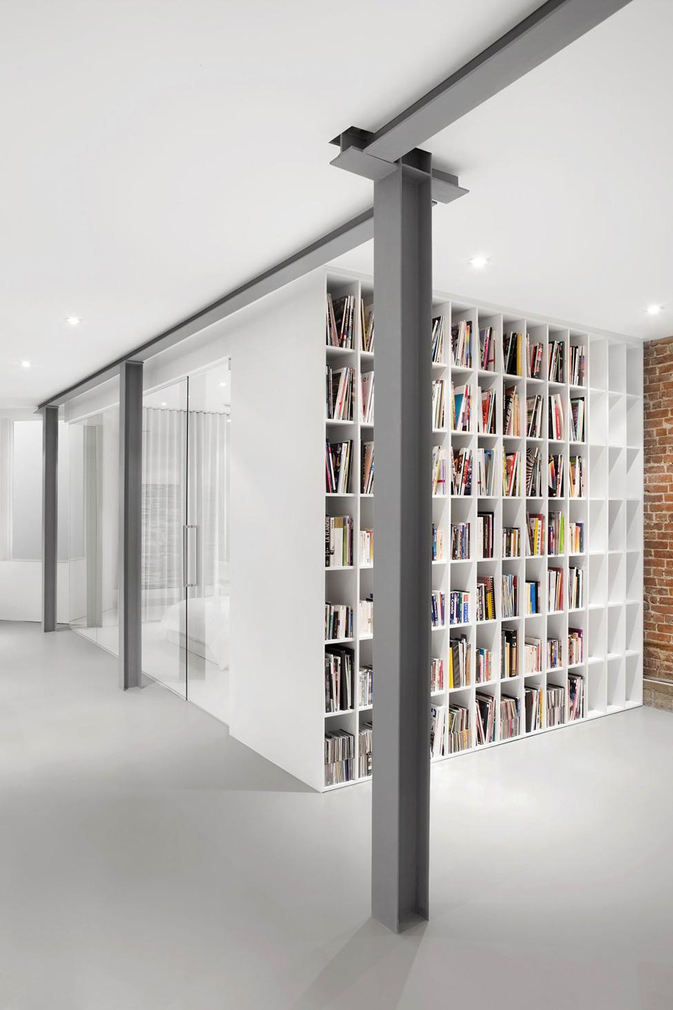 Дизайн квартиры Espace St Denis от Anne Sophie Goneau